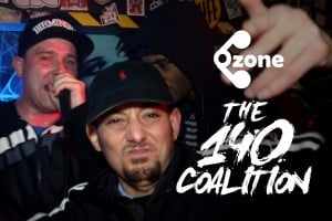 Ozone Media: Bazza, Lightz, Hazman, MK, Jotta, Morphman, TG Showerface & Razor [THE 140 COALITION]