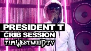 President T freestyle – Westwood Crib Session