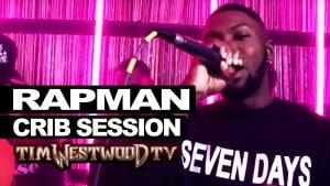Rapman freestyle – Westwood Crib Session