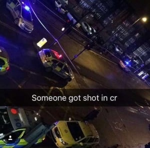 *GRAPHIC* Shooting At Church Road (Nines vs C-biz related?)