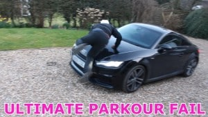 ULTIMATE PARKOUR FAIL