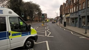 Shops and homes evacuated and traffic in 'chaos' after WW2 bomb found in Lewisham