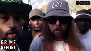 Big Narstie Presents The 420 #BDL Cipher 2016 (Part 2) | Grime Report Tv