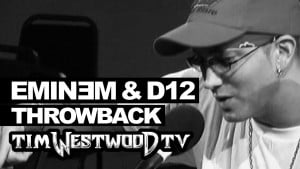 Eminem freestyle never heard before! with D12 Throwback 2004 – Westwood
