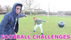 FOOTBALL CHALLENGES!!