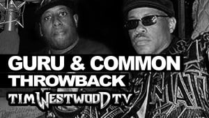 Guru & Common freestyle back to back on Next Episode – Throwback 2000 Westwood