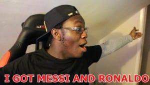 I GOT MESSI AND RONALDO