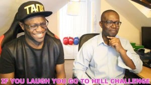 IF YOU LAUGH YOU GO TO HELL CHALLENGE