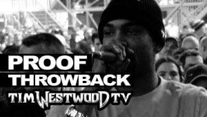 Proof live freestyle never seen before Throwback 2001 – Westwood