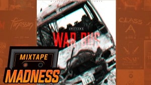 Unit12MG (Kobaine, Mally & Klemz) – War Bus Freestyle | @MixtapeMadness