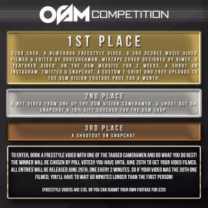 OSM Vision Competition with HUGE Prizes!