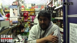 Angry ShopKeeper : Live Phone In Show (PART 2) | Grime Report Tv