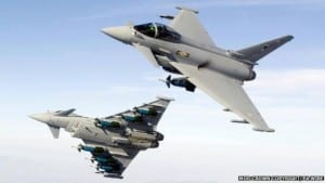 BREAKING NEWS: Fighter Jets break sound barrier flying over Leeds