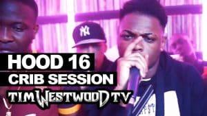 Hood 16 Yxng Bane, Kojo Funds freestyle – Westwood Crib Session