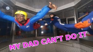 MY DAD CAN'T DO IT!