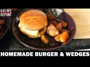 Whippin In Da Kitchen (Cooking Show) [Ep 2] Home Made Burgers | Grime Report Tv