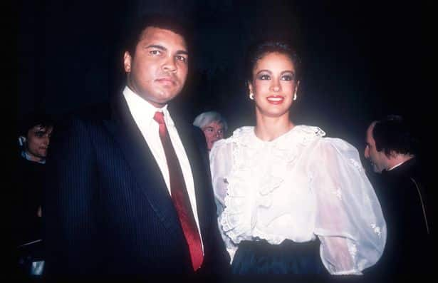 Muhammad Ali And third wife Veronica
