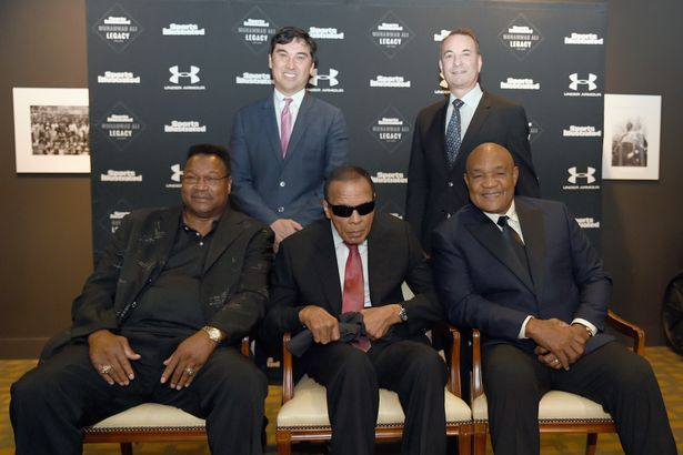 Ali appeared frail at the Sports Illustrated Tribute to his life in October last year