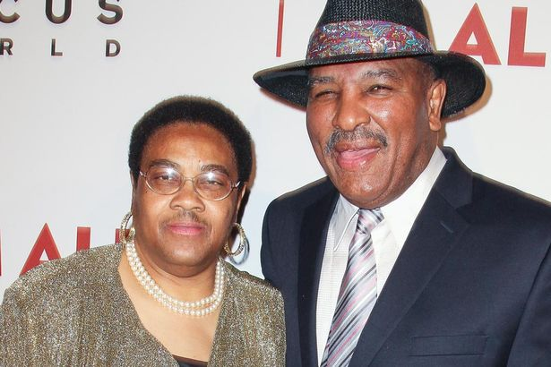 Brother Rahman Ali with his wife