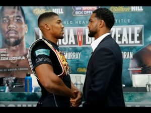 Anthony Joshua vs Dominic Breazeale – ***** Prediction : Angry ShopKeeper   Grime Report Tv