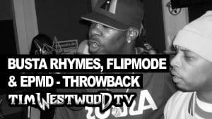 Busta Rhymes, Flipmode, EPMD freestyle – rare first time ever released Throwback – Westwood