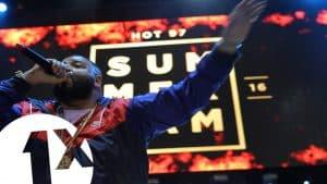 DJ Khaled and friends speak to Charlie Sloth at Summerjam 2016