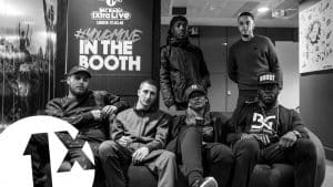 Jaykae, Manchester Hypes, Skatta & Slick Don in Sian's Studio