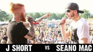 Rap Battle JShort V Seano Mac @ Love Saves The Day Music Festival