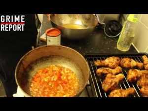 Whippin In Da Kitchen (Cooking Show) [Ep 3] Stewed Chicken & Dumplings   Grime Report Tv