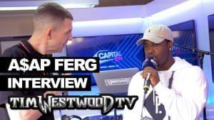A$AP Ferg Back Hurt dance, New Level backstage at Wireless – Westwood
