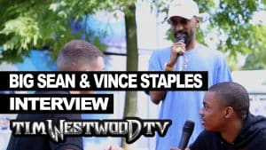 Big Sean says he's working with Vince Staples backstage at Wireless – Westwood