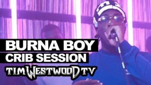 Burna Boy freestyle – Westwood Crib Session