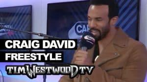 Craig David freestyle on Lock Arff backstage at Wireless – Westwood