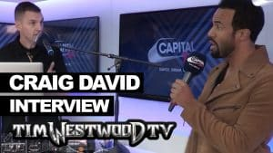 Craig David on come back, Grime, TS5 backstage at Wireless – Westwood