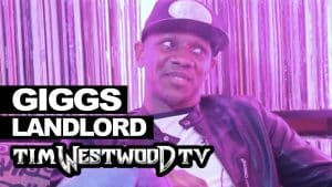 Giggs on Landlord, UK scene, Peckham, success – Westwood