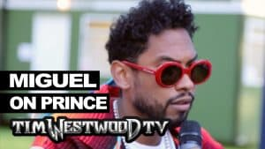 Miguel on Prince's influence – Westwood