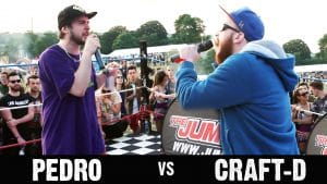 Rap Battle Pedro vs Craft-D @ Love Saves The Day Music Festival
