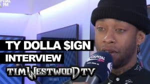 Ty Dolla Sign on Campaign, Trump or Hillary, Culture Clash backstage at Wireless – Westwood