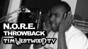 N.O.R.E freestyle 1998 never heard before! Westwood Throwback