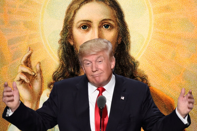 Donald Trump Or Jesus Christ