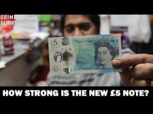 How Strong Is The New £5 Note? – Science 4 Da Mandem | Grime Report Tv