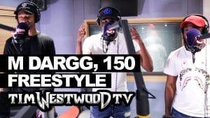 M, Dargg, Stickz, S Wavey freestyle – Westwood