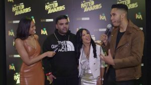 Naughty Boy & Kyla talk support of artists & working with Drake at Rated Awards