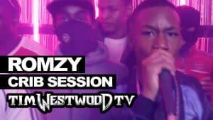 Romzy 18 Boyz freestyle – Westwood Crib Session