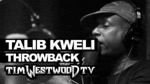 Talib Kweli freestyle 2002 first time ever released! Westwood Throwback