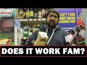 £8.00 Cardboard Virtual Reality Headset : DOES IT WORK FAM? #Science4DaMandem | Grime Report Tv