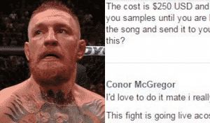 Before He Was Famous, Conor Couldn't Afford A $250 Walkout Song