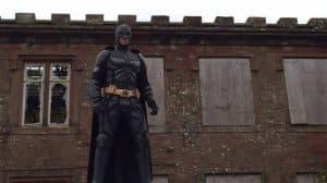 "Man dressed as Batman ******** back against ""Killer Clowns"""