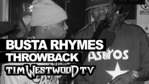 Busta Rhymes & Spliff Star freestyle from 1999 – never heard before! Westwood Throwback