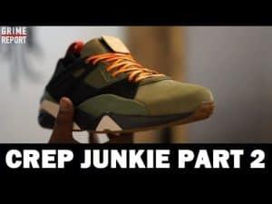 Crep Junkie Shows Us His Collection (Part 2) [@CrepJunkie] | Grime Report Tv
